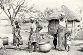 Representatives of a Ghanaian tribe — Stock Photo