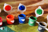 Paint cans — Stockfoto
