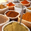 Spice at a market — Stockfoto