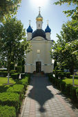 Church in Pochaiv, Ukraine — Stock Photo