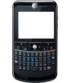 Qwerty phone — Stock Photo
