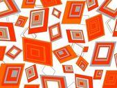 Retângulos de laranja abstratos loucos — Vetorial Stock