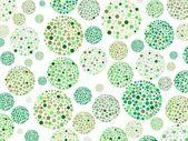 绿色圆圈圈 — 图库矢量图片