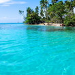 Honeymoon in Bora Bora. — Foto Stock
