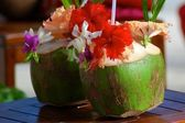Cocktail in Bora Bora. — Stock Photo