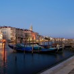 Gondolas on the Grand Canal. — Stock Photo