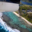 Aerial view of Bora Bora. — Stock Photo