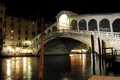 Rialto Bridge, Venecia. — Stock Photo