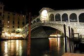 Rialto Bridge, Venecia. — Stock Photo