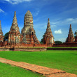 Chaiwattanaram temple in Ayutthaya Historical Park, Thailand — Stock Photo