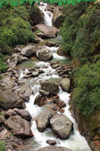 Waterfall, River and stone in Sikkim, India — 图库照片