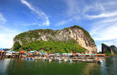 Panyee Island in Phang Nga Province, Thailand — Stock Photo