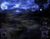 Haunted Night — Stock Photo