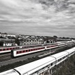 Royalty-Free Stock Photo: Trains in Berlin