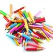 Short pencils — Stock Photo