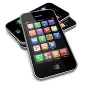 Smartphones — Foto Stock