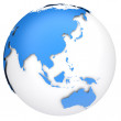 Earth globe model — Stock Photo #11557643