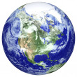 Earth globe - Foto Stock