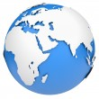 Earth globe — Stock Photo #11557680