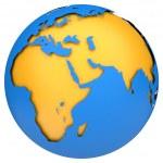 Earth globe — Stock Photo #11557681