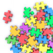 Jigsaw puzzle — Stock Photo
