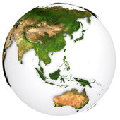 Earth planet — Stock Photo