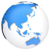 Earth globe model — Stock Photo