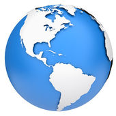 Earth globe — Foto Stock