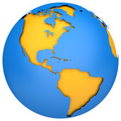 Earth globe — Stockfoto