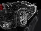 Modelo de coche de los deportes — Foto de Stock