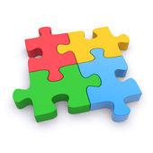 Jigsaw puzzle — Foto Stock
