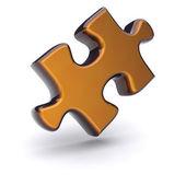 Puzzle d'oro — Foto Stock