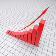 Growth charts — Stock Photo