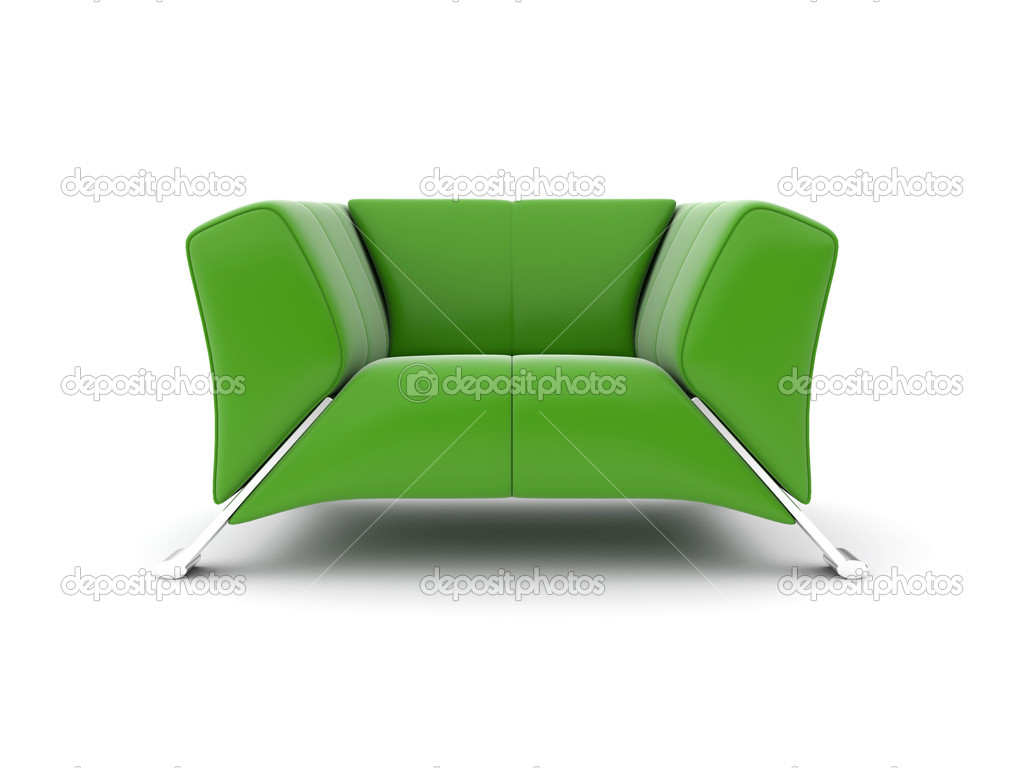 Green chair — Stock Photo #11560643