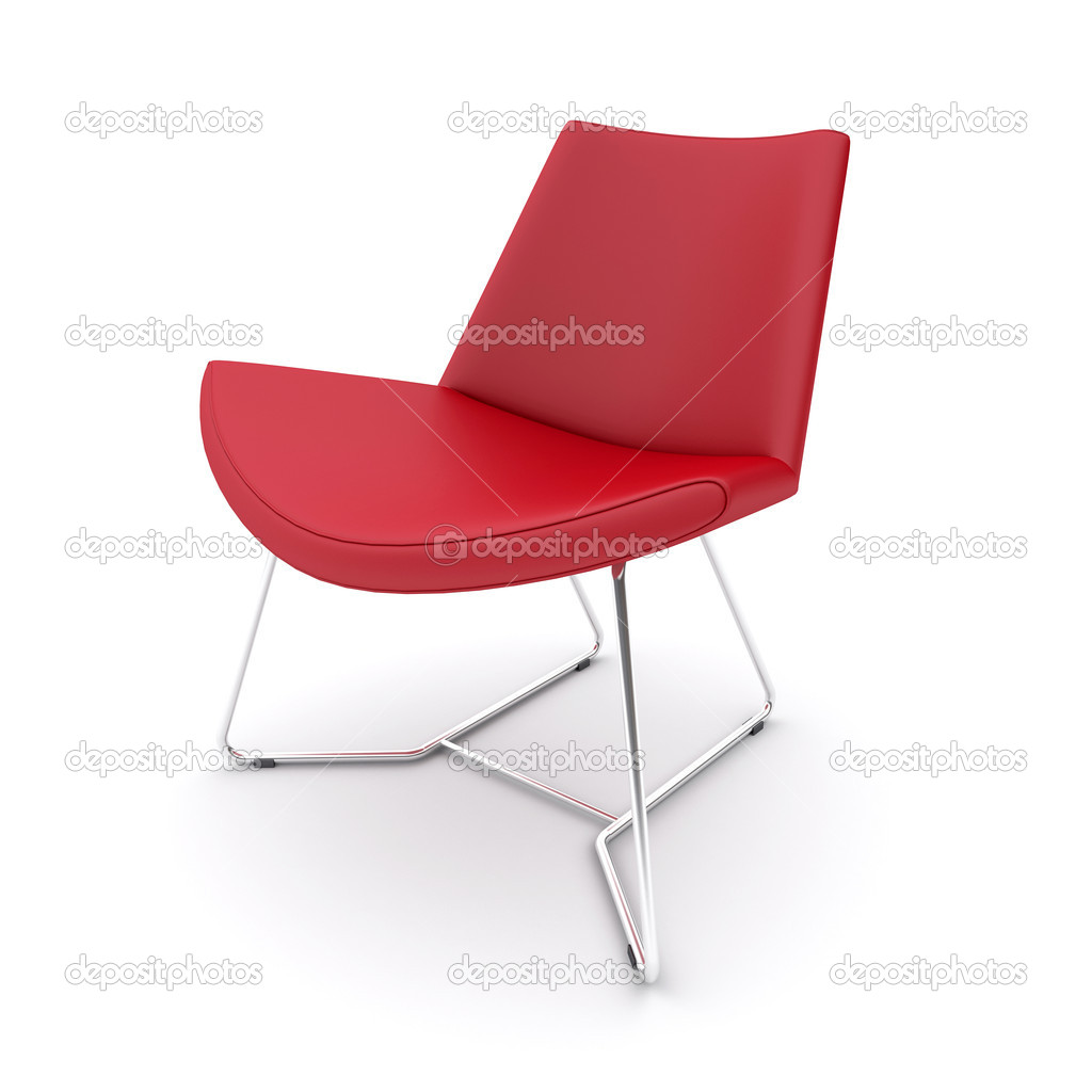 Red chair  Stock Photo #11560758