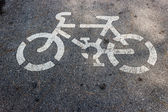 For bicycles — Stock Photo