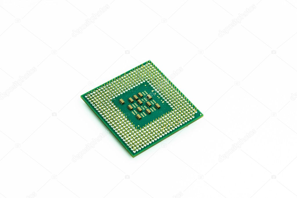 Cpu on white background — Stock Photo #12023799
