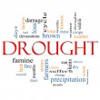 Drought Word Cloud Concept — Stock Photo #11713528