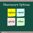 Stock Photo: Obamacare options