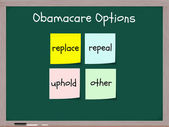 Obamacare options — Stock Photo