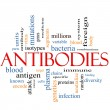Antibodies Word Cloud Concept — Stock Photo