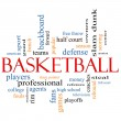 Basketball Word Cloud Concept — Stock Photo #11738413
