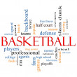 Stock Photo: Basketball Word Cloud Concept