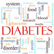 Diabetes Word Cloud Concept — Stock Photo #11738481
