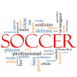 Royalty-Free Stock Photo: Soccer Word Cloud Concept