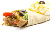 Fajita ready for dinner — Stock Photo