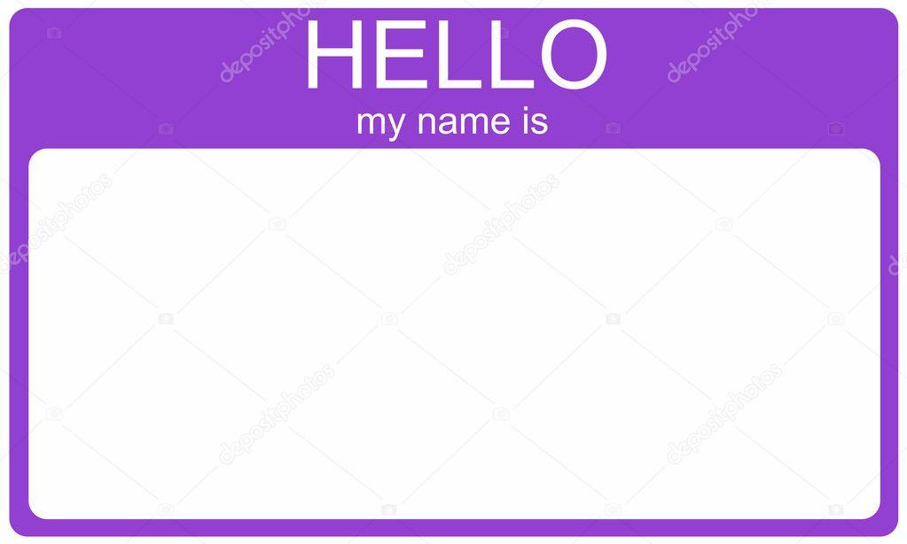 Purple Tag: Stock Photo © Mybaitshop #11738572