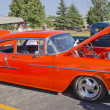 ������, ������: Orange 1957 Chevy Bel Air