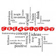 Creativity Word Cloud Concept Scribbled — Stock Photo #11796689