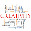 Creativity Word Cloud Concept — Stock Photo #11796691